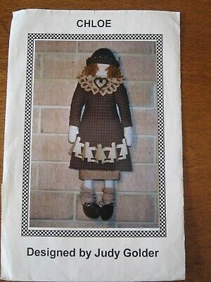 Chloe Doll Pattern Designed By Judy Golder