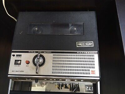 National REEL to REEL Portable tape recorder. Model - Reverse-A-Track