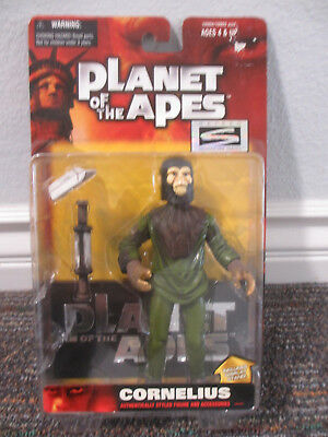 PLANET OF THE APES CORNELIUS CHIMP ACTION FIGURE New