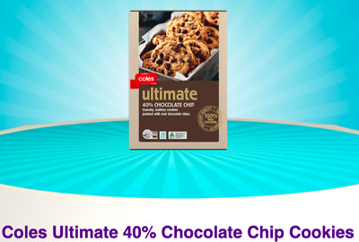 Coles Little Shop 2 Minis Collectibles Ultimate Chocolate Chip Cookies