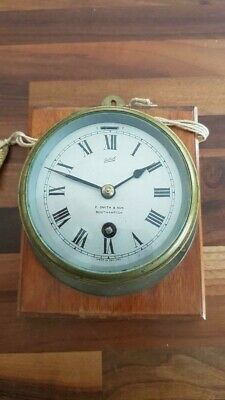 Sestrel clock.. Made by F . Smith and Son of Southampton. Fully working.