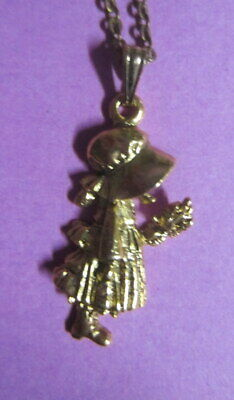 Vintage Hobby Hollie necklace chain with pendant jewellery