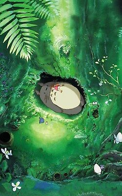 My Neighbour Totoro Studio Ghibli Movie Poster Print T1794 |A4 A3 A2 A1 A0|