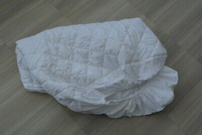 NEW Mamas and Papas Quilted Waterproof Fitted Mattress Protector - Cot Cotbed