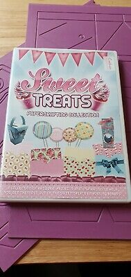 Sweet Treats CD Rom and 3 embossing boards to match