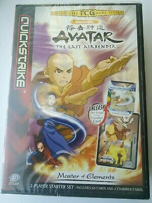 AVATAR - The Last Airbender - Trading Card Game - 2 Player Set - SEALED