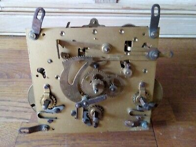 Vintage Fontenoy French Westminster Clock Movement (untested)