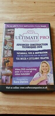 Ultimate Pro plus DVD and various embossing boards