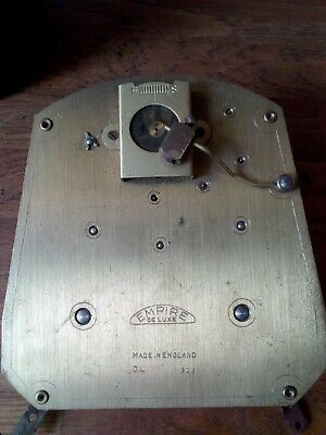 VINTAGE SMITHS EMPIRE deluxe STRIKING CLOCK MOVEMENT FOR SPARES OR REPAIR