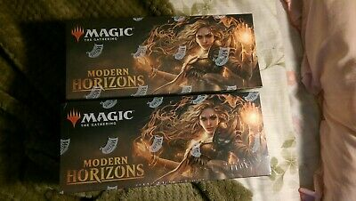 Magic The Gathering 2x Modern Horizons Booster Boxes FACTORY SEALED