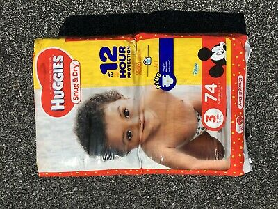 Huggies Snug & Dry Diapers Pack - Size 3 (74 Count)