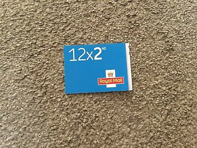Royal Mail 2nd class Book of 12 Letter Stamps. New. Unused.