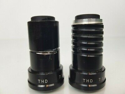 2 x VintageTHD 7.5mm f1.4 Projection Projector Lens