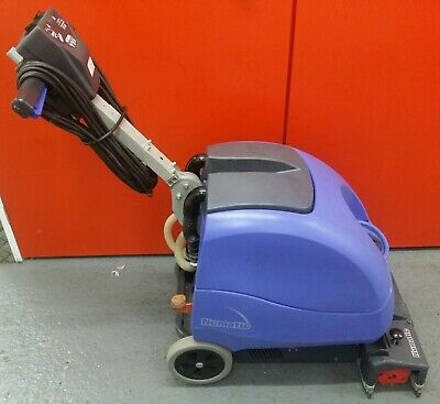 Numatic compact scrubber drier workshop garage floor cleaning cleaning machine