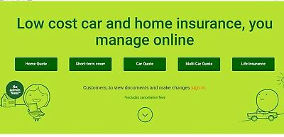 Buy Quote me Happy car insurance & get a £50 Amazon Voucher Ford Audi VW BMW Jag