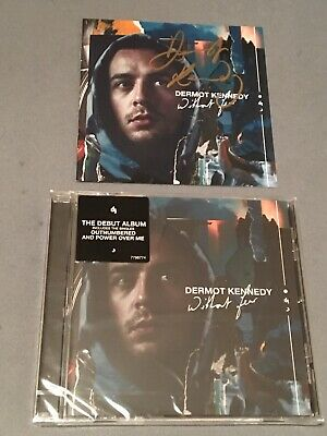 DERMOT KENNEDY - WITHOUT FEAR SEALED CD with HAND SIGNED EXTRA INSERT NEW