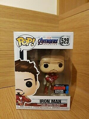 NYCC 2019 Funko Pop! Marvel Iron Man With Gauntlet Avengers Endgame Figure BNIB