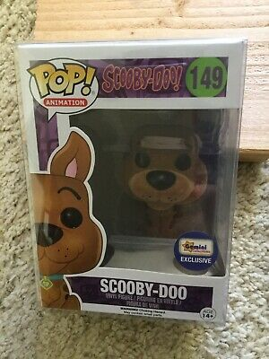 Pop Animation - Scooby Doo Flocked Funko Pop (Gemini Exclusive) NIB W/ Protector