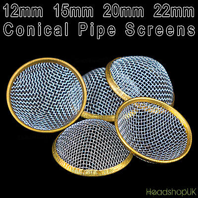 12mm 15mm 20mm 22mm Pipe Screens Gauzes Conical Steel Brass Bowl Metal Filters