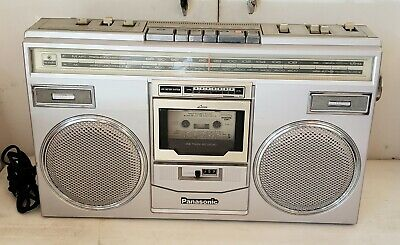 Vintage Panasonic RX-5100 AM FM Radio Stereo Cassette Boombox | Works!