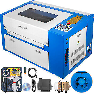 50w Co2 Laser Engraver Engraving Machine Engraver Cutter Cutting Crafts Artwork