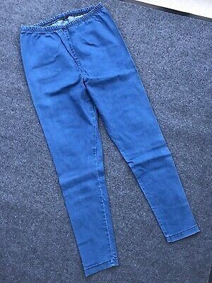 Blooming Marvellous 16 Maternity Blue Jeggings Denim Mothercare Over-Bump