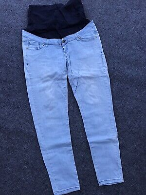 Blooming Marvellous Mothercare Maternity Over The Bump Skinny Jeans Size 14R