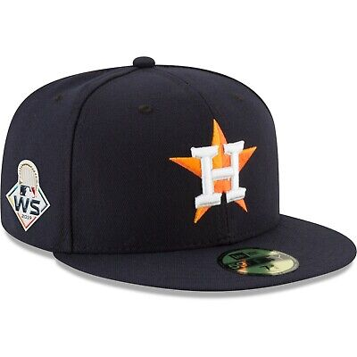 2019 Houston Astros New Era 59FIFTY World Series On Field Fitted Cap Hat 5950
