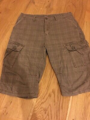 Jack jones Mens Long Shorts, Check,Large