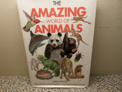 Used HardCover Book 'The Amazing World of Animals' by David Taylor Gallery Books