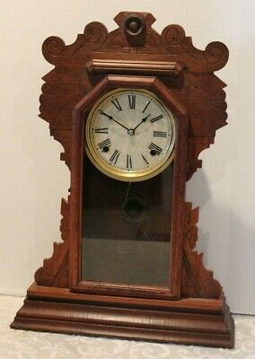 Antique Mantle Clock S La Rose Inc.  Clocks Works Usa Parts/Repair