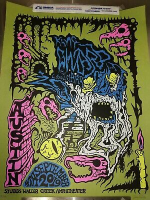 King Gizzard & the Lizard Wizard Tour Poster Austin Texas 75/200 Sold Out!