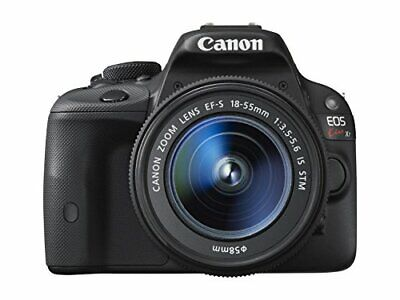 Canon DSLR camera EOS Kiss X7 with EF-S18-55mm IS STM