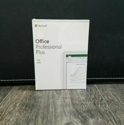 Hot Microsoft Office 2019 Pro Professional Plus Retail - 1 PC