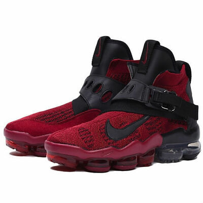 Nike Air Vapormax Premier Flyknit Shoes Men's Size 10 Red AO3241-600 MSRP $225