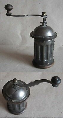 Antique More Than 100 Years Old German Coffee Grinder Mill / Functional