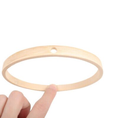 10pcs Anti Corrosion Hoop Dreamcatcher Accessory Art Inner DIY Craft Bamboo Ring