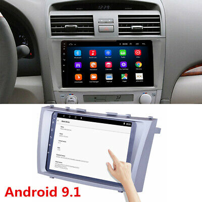 """9"""" Android 9.1 Touchscreen Radio Stereo MP5 GPS WIFI For Toyota Camry 2007-2011"""