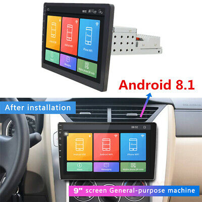 """9"""" Android 8.1 Auto 1Din Stereo Radio MP5 Player 2GB+32GB GPS Navigation Wifi"""