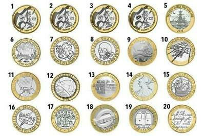 Royal Mint Coint Hunt £2 coins commonwealth games olympics and many more