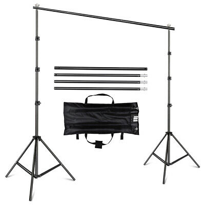 2X3M Studio Backdrop Screen Stand Background Support Stand Photography Kit + Bag