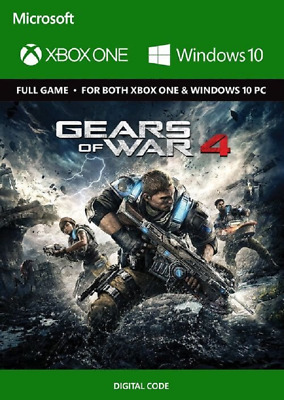 Gears of War 4 - XBOX ONE / PC *CD-KEY Digital Download* 🔑🕹🎮