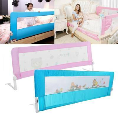 180cm Folding Child Toddler Baby Bed Rail Safety Protection Guard 2 Colours