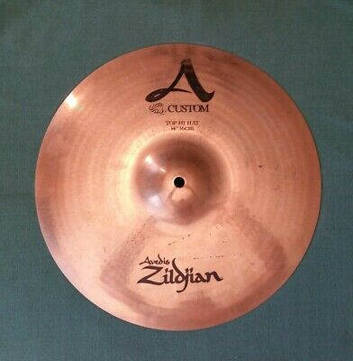 "Zildjian A Custom 14"" Top Hi Hat Cymbal"