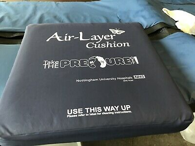 Air Layer - Foam Pressure Care Wheelchair Seat Cushion - High Risk