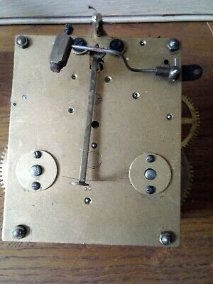 Vintage German 8 Day Mechanical Clock Movement ( Working)