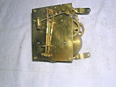 Clock  Parts  , Brass   Movement  , Working  Order