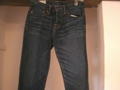 "Abercrombie & Fitch Jeans W 28"" L 30"" Men / Youth Distressed Pattern Great cond"