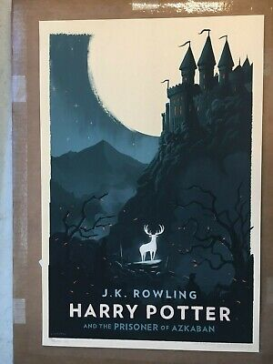 Olly Moss LIMITED EDITION HARRY POTTER Prints - Complete Collection of 7