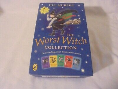 The Worst Witch Complete Adventures Childrens 5 Book Set by Jill Murphy